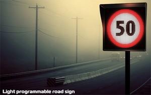 Дорожные знаки на LED дисплеях