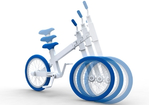 Велосипед-эспандер
