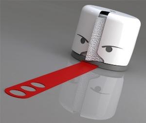 Языкатый охранник туалетной бумаги