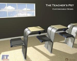 The Teacher's Pet – школьные парты нового поколения