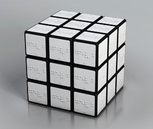 Кубик Брайля