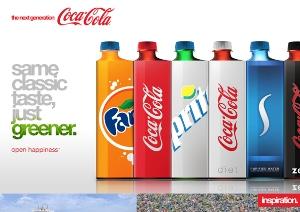 Новый дизайн от Coca Cola