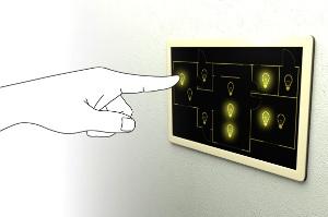 Схематичный выключатель