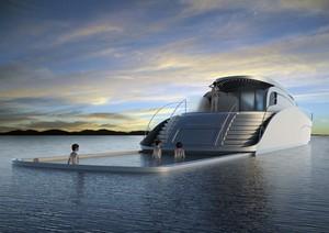 Atreides Yacht – яхта с морским бассейном